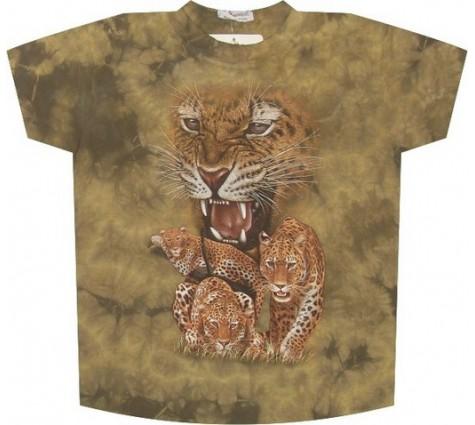 Мужская футболка с гепардом