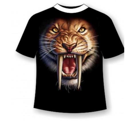 Футболка саблезубый тигр TDA 198