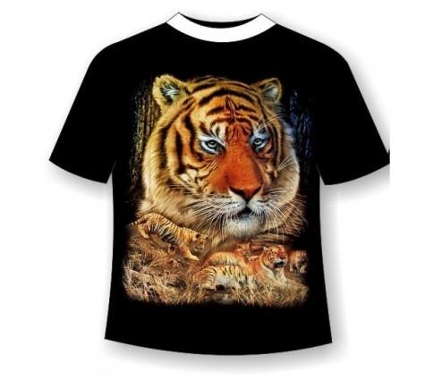 Футболка тигр R 624