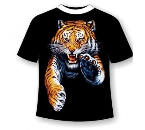 Футболка тигр TDA 089