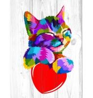 Картина Likee с котенком
