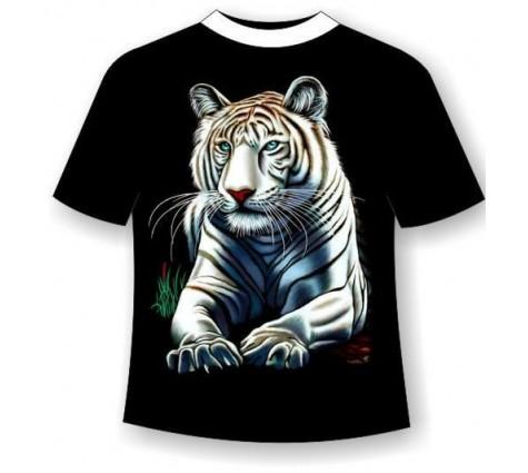 Футболка Белый тигр