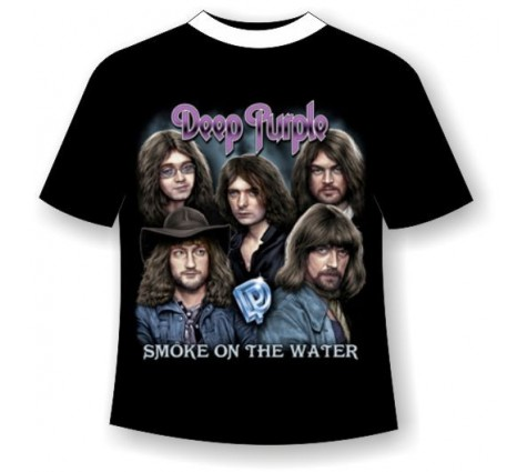 Футболка Deep Purple