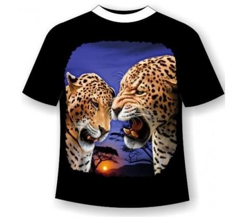 Футболка Леопарды