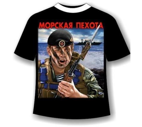 Футболка Морская пехота