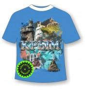 Футболка Крым достопримечательности 885
