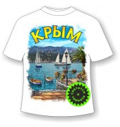 Футболка Крым лазурный берег 886