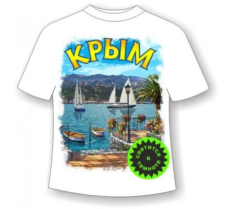 Футболка Крым лазурный берег