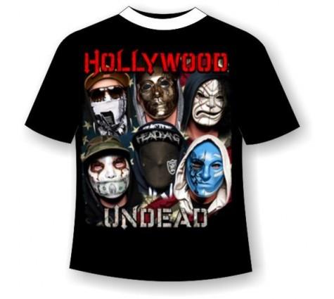 футболка hollywood