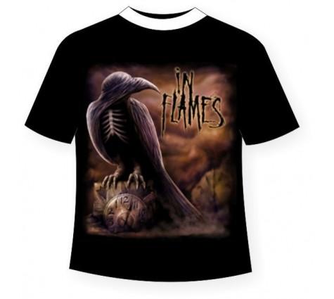 футболка in flames