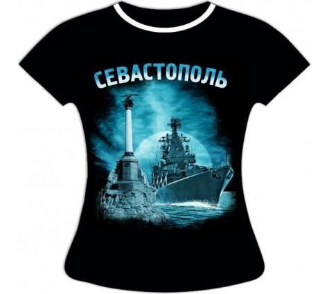 женская футболка севастополь ночной