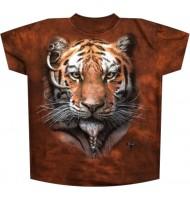 Мужская футболка Африканский тигр