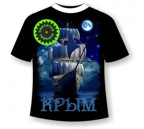 Футболка Крым ночной
