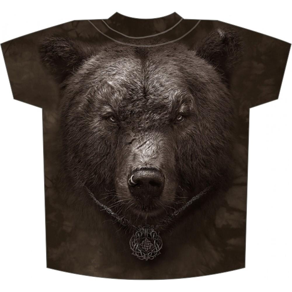 футболки с медведем