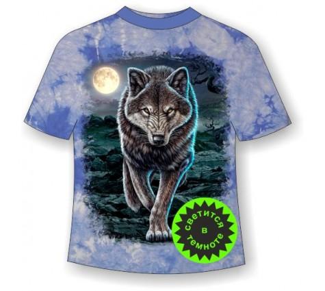Футболка Волк крадущийся MM 806