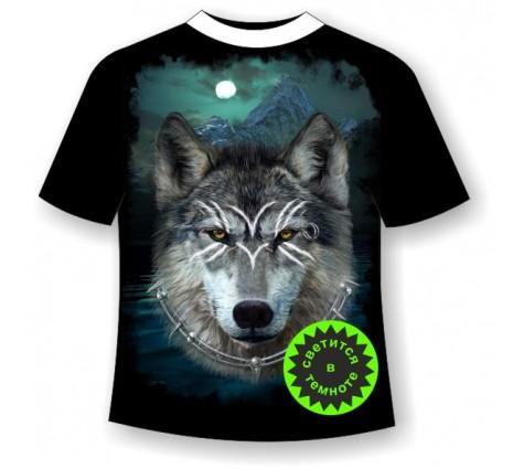 Футболка Волк воин