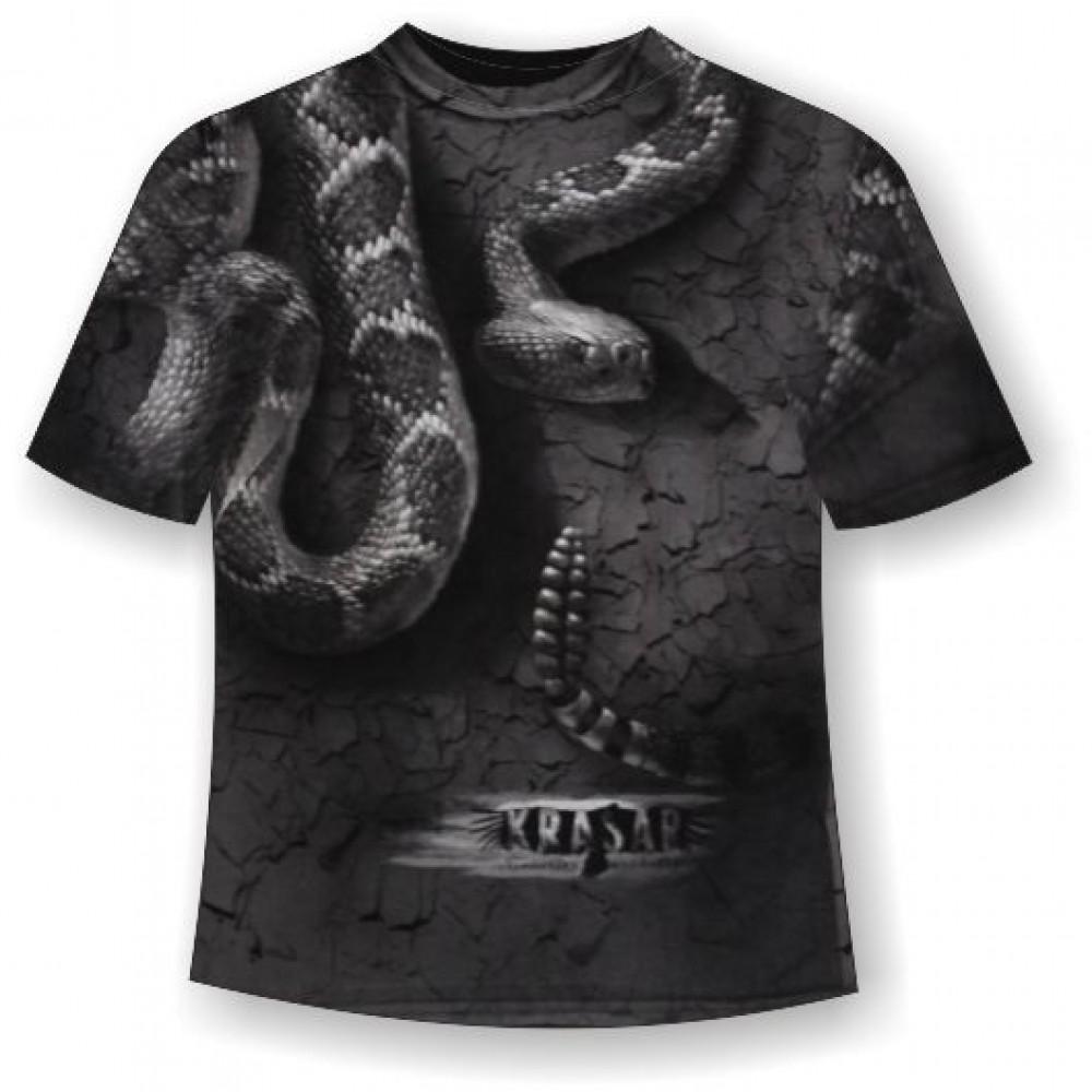 Футболка Гремучая змея KPT186