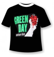 футболка green-day
