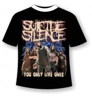 футболка Suicide Silence