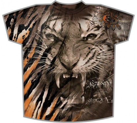Футболка Тигр Африка