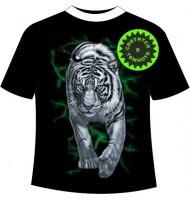 Футболка Тигр на охоте №714