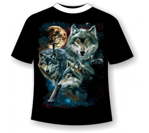 Футболка Волк №607