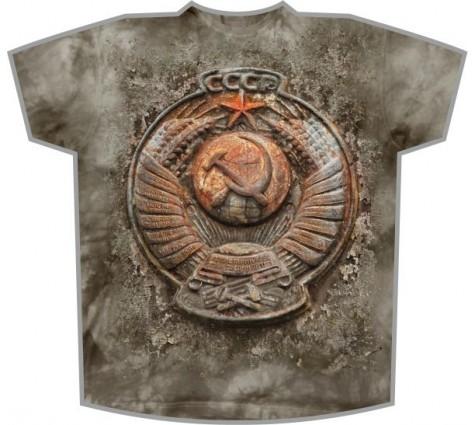 Вареная футболка СССР