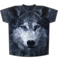 Футболка Волк серый KP 189