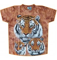 Футболка семейство тигров TD 237