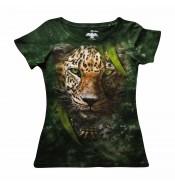 Женская футболка Леопард КР 263
