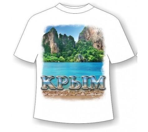 Футболка Крым горы