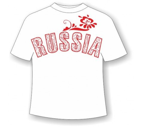 Футболка Россия-2