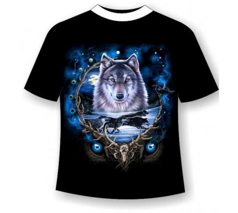 Футболка Волк №219