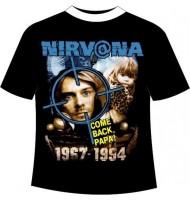 Футболка Nirvana №25