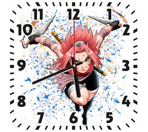 Часы Сакура