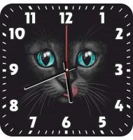 Часы Кошка с языком 1047
