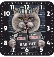 Часы  Плохой кот 970