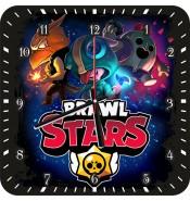 Часы Brawl Stars Герои 1105