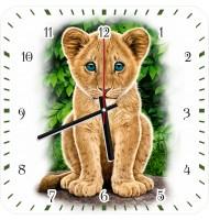 Часы Львенок
