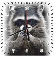 Часы с енотом