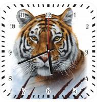 Часы с тигром