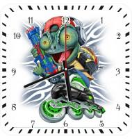 Часы Ящерица на роликах 1066