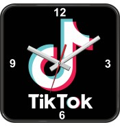 Настенные часы Тик Ток