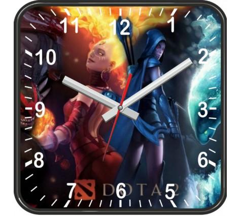 Настенные часы Дота