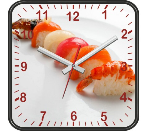 Настенные часы Суши 2