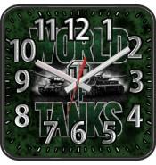 Настенные часы Танки