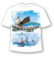 Подростковая футболка Севастополь с грифоном
