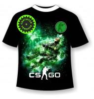 Подростковая футболка CS (Counter Strike)