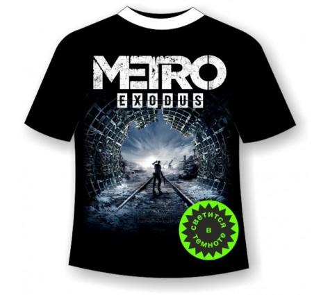 Подростковая футболка Метро