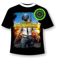 Подростковая футболка Battlegrounds